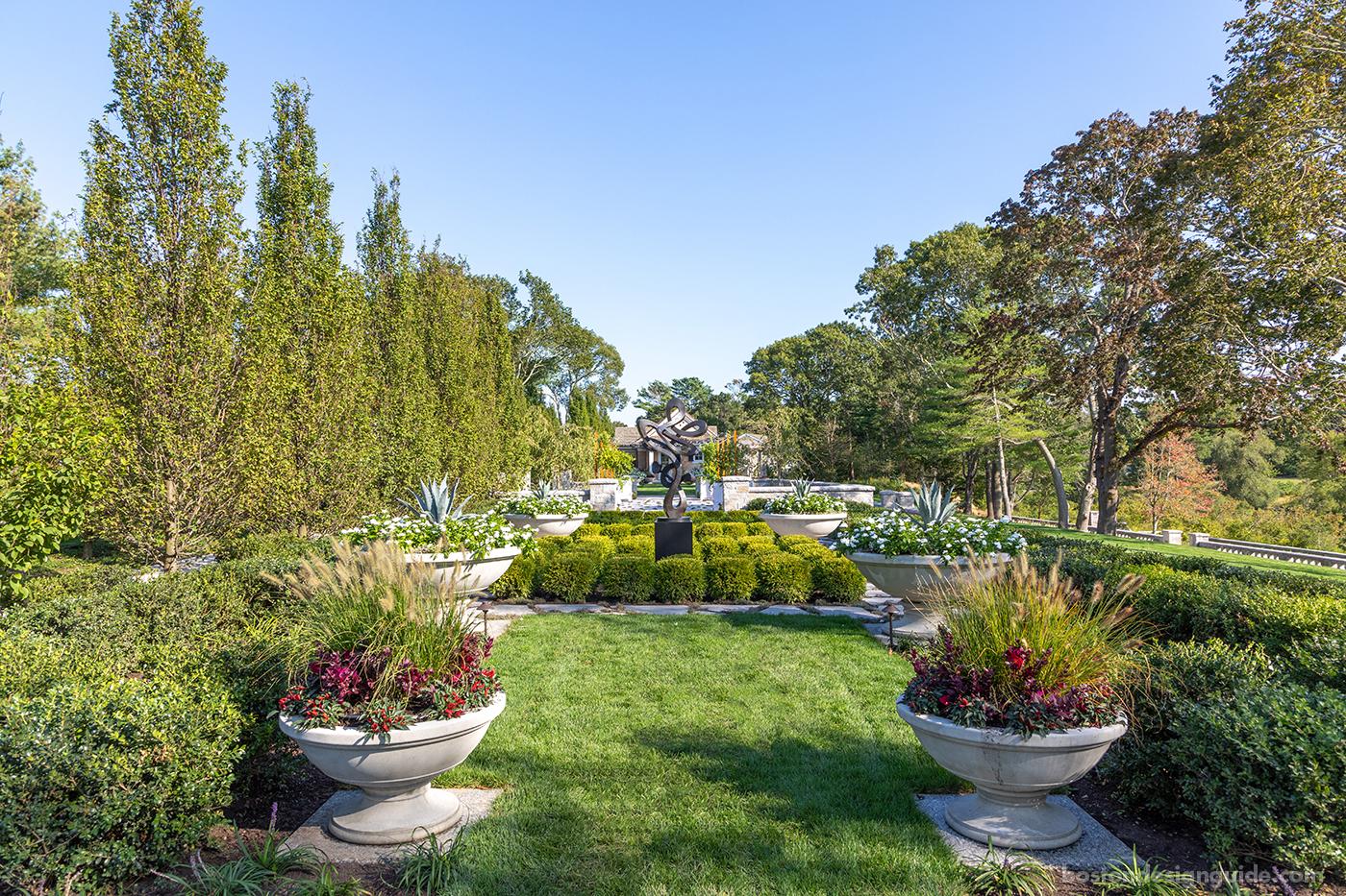 Cape Cod garden by landscape artisans Schmacher Companies