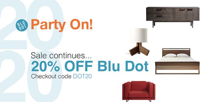 20 Off Blu Dot At Lekker Home Boston Design Guide