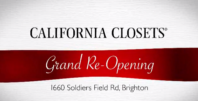 Seen Inspired California Closets Grand Re Opening Of Flagship Showroom In Brighton