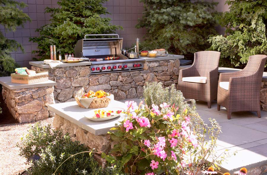 Design Your Outdoor Kitchen With Clarke Boston Design Guide Mesmerizing Tropical Outdoor Kitchen Designs
