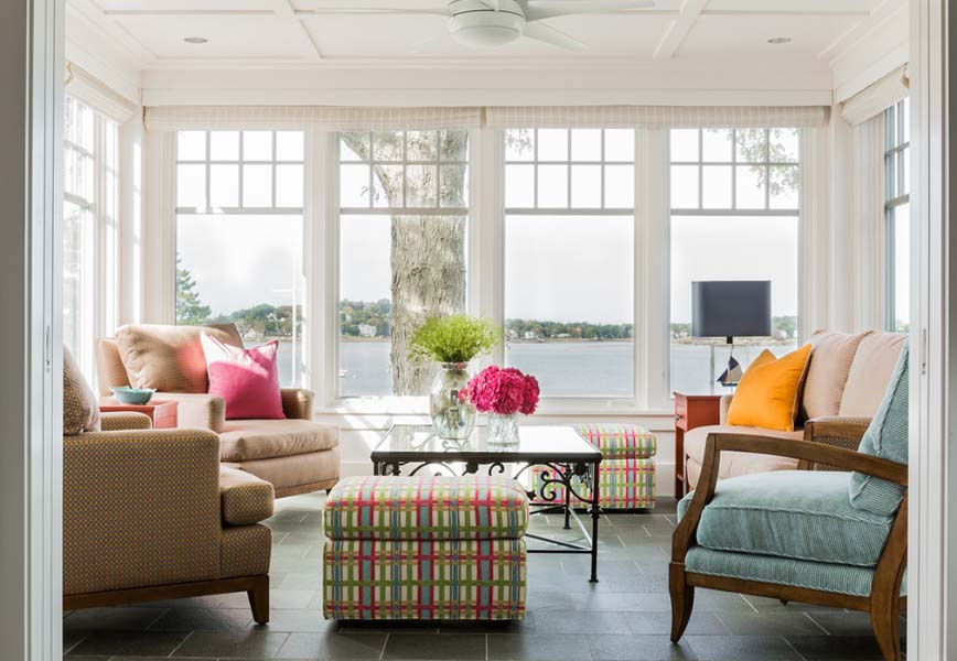 Colorful Seaside Residence