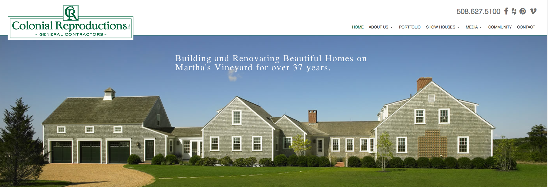 Colonial Reproductions High End Custom Home Builders In
