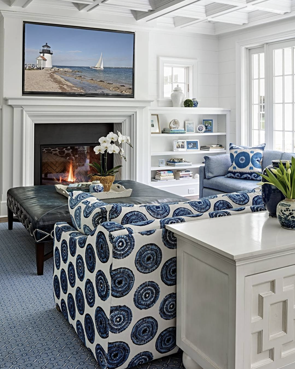 Cape Cod Vacation House Interior Design