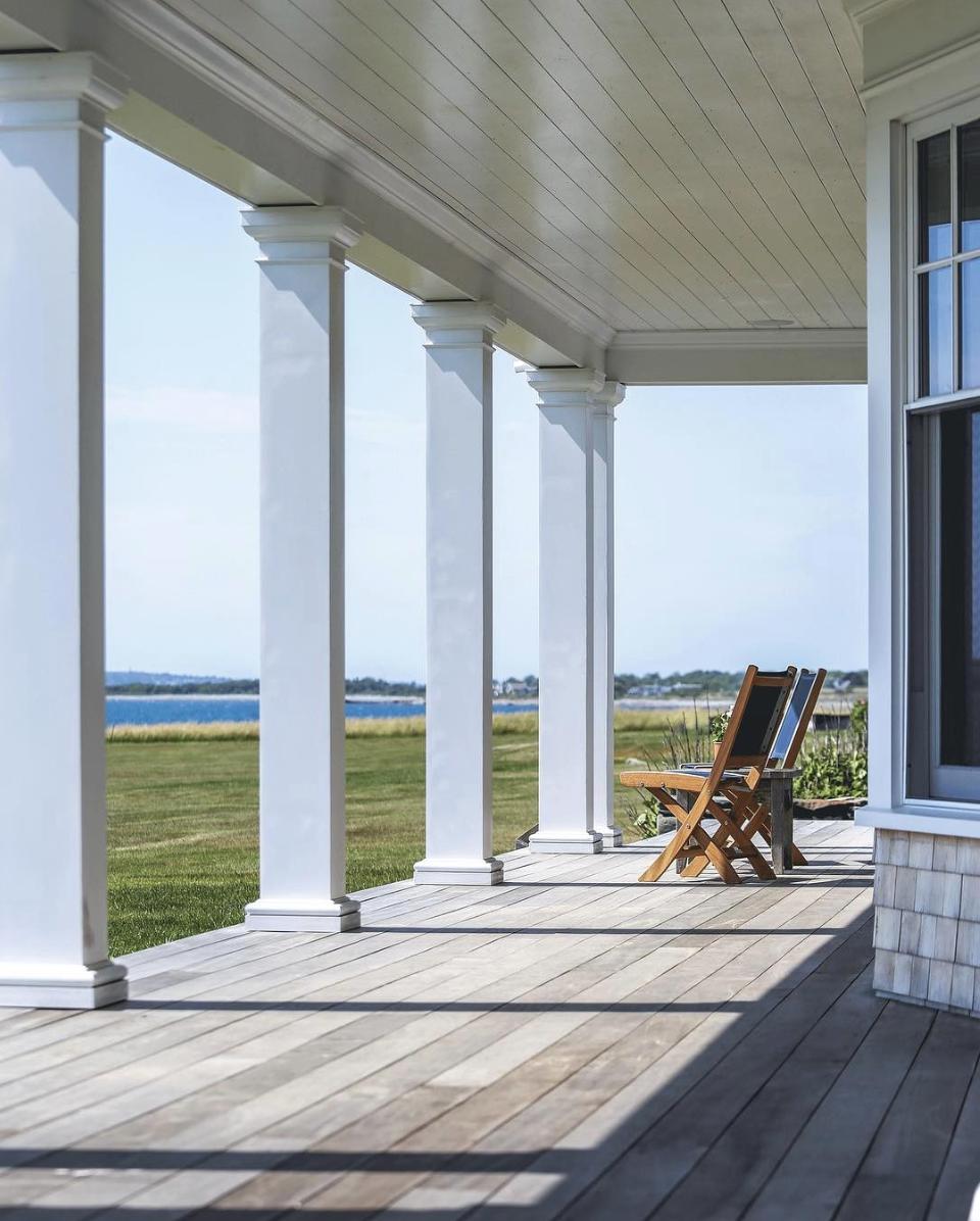 New England waterfront ocean views
