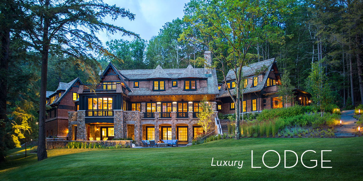 Lake Sunapee Home designed by Shope Reno Wharton and constructed by KVC Builders
