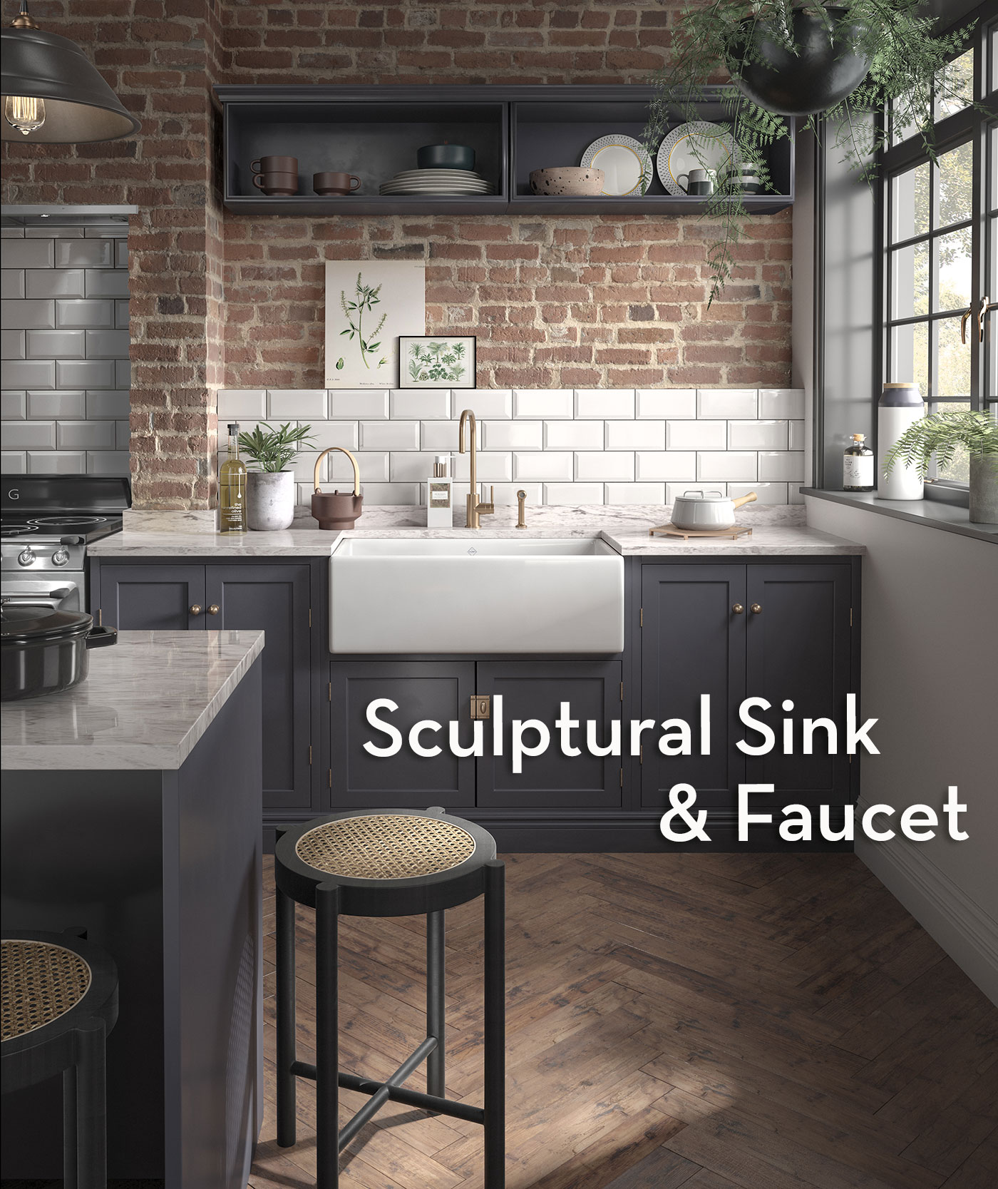 House of Rohl sink and faucet available at Snow and Jones, Inc.