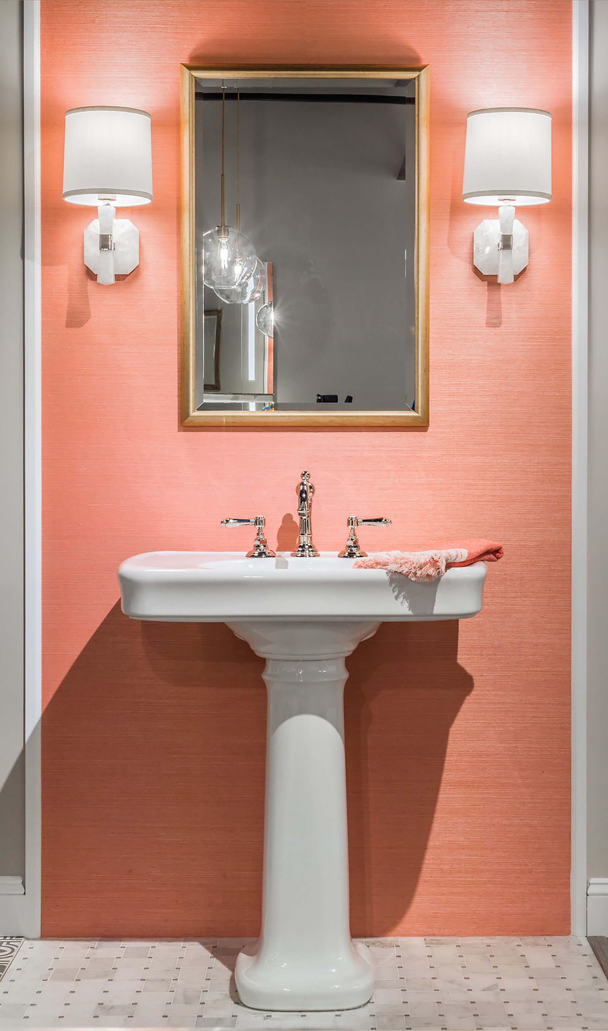 Bathroom fixtures by Snow & Jones