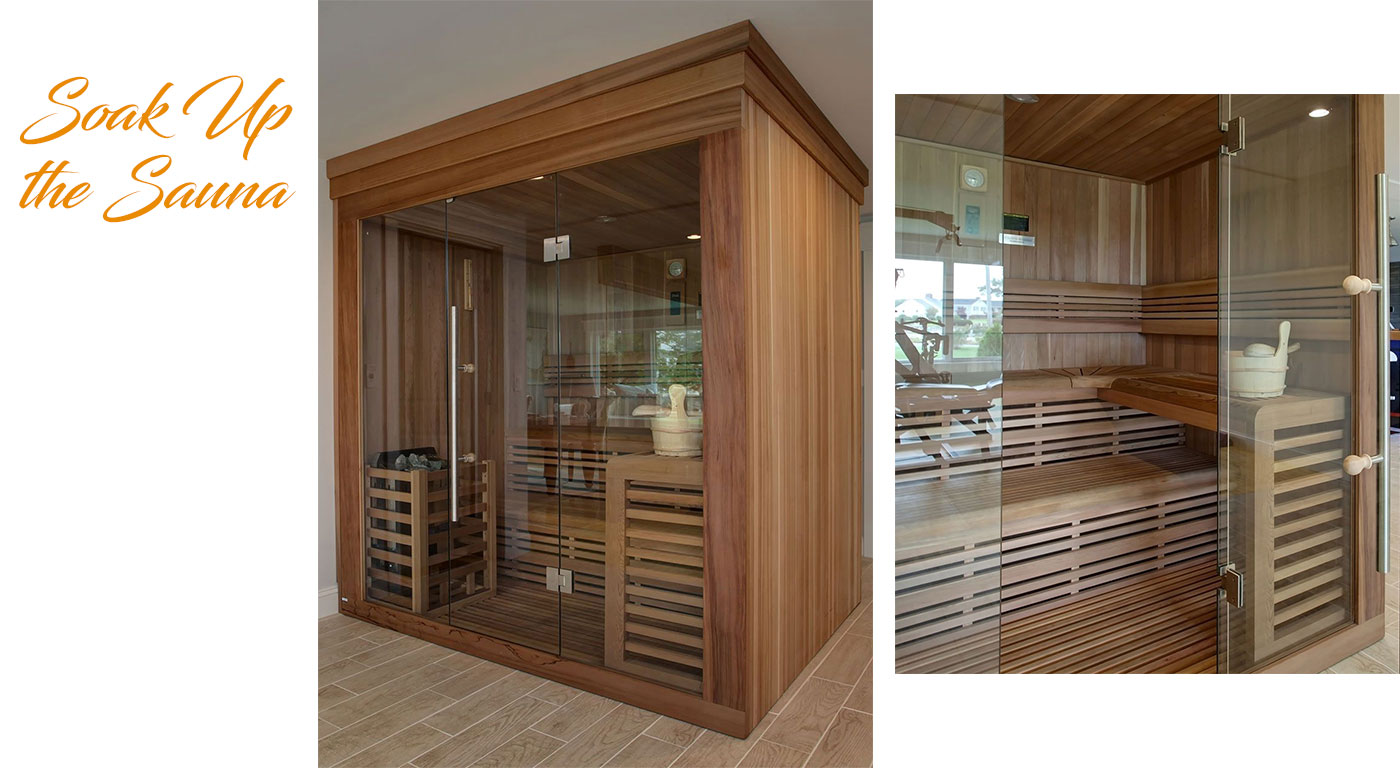 Sauna by Sand Dollar Customs