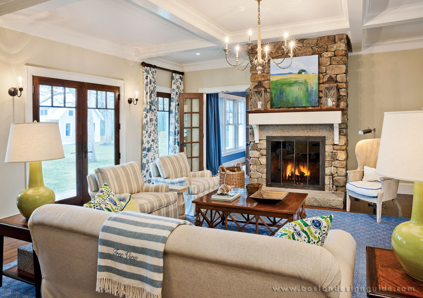 Featured project cape cod compound boston design guide for Cape cod living room design