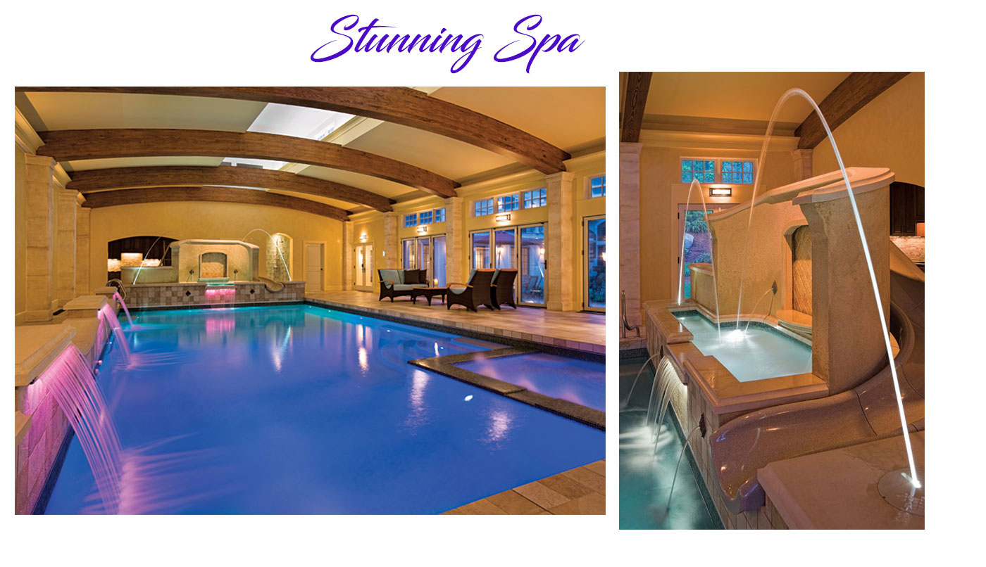 Indoor pool and spa by Combined Energy Systems Inc.