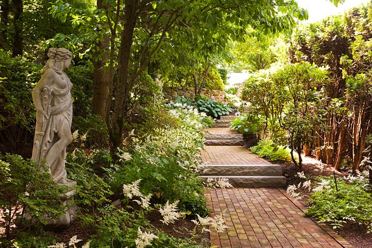 Garden landscape by Sudbury Design Group
