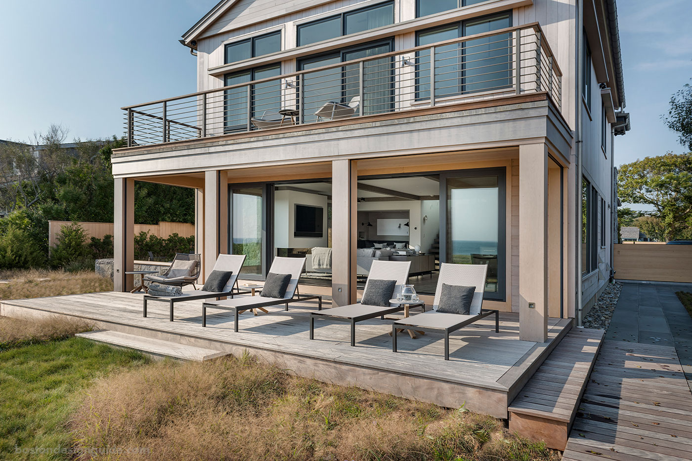 Organic beachside Cape Cod home with a California flair