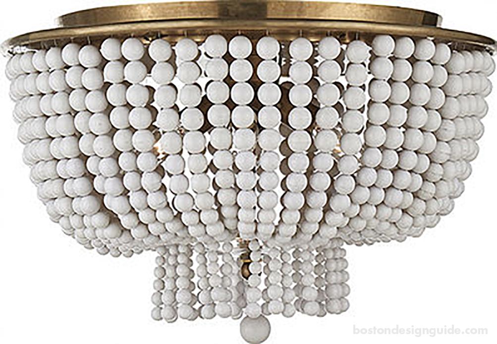 Ceramic chandelier