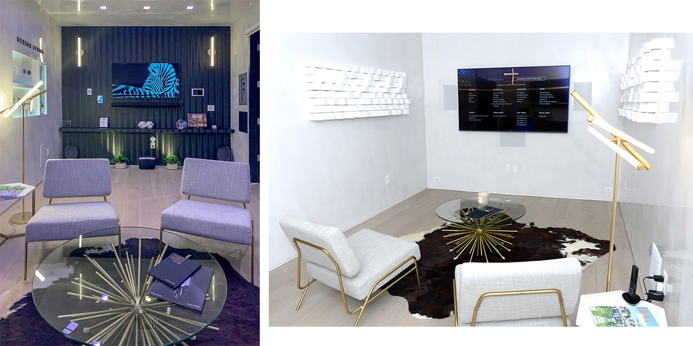 Systems Design & Integration new Experience Showroom in Needham, Mass.