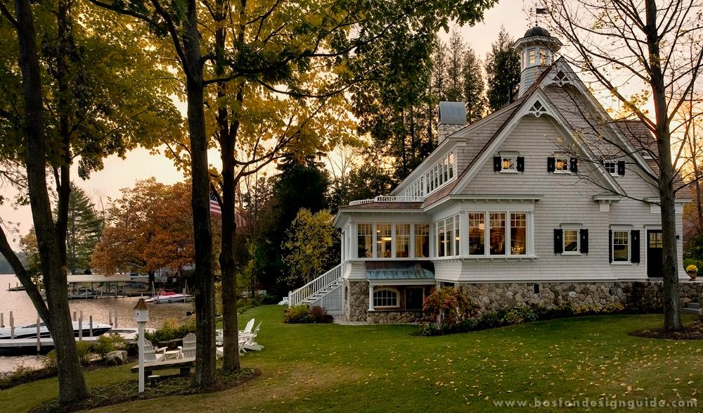 lakefront home architecture