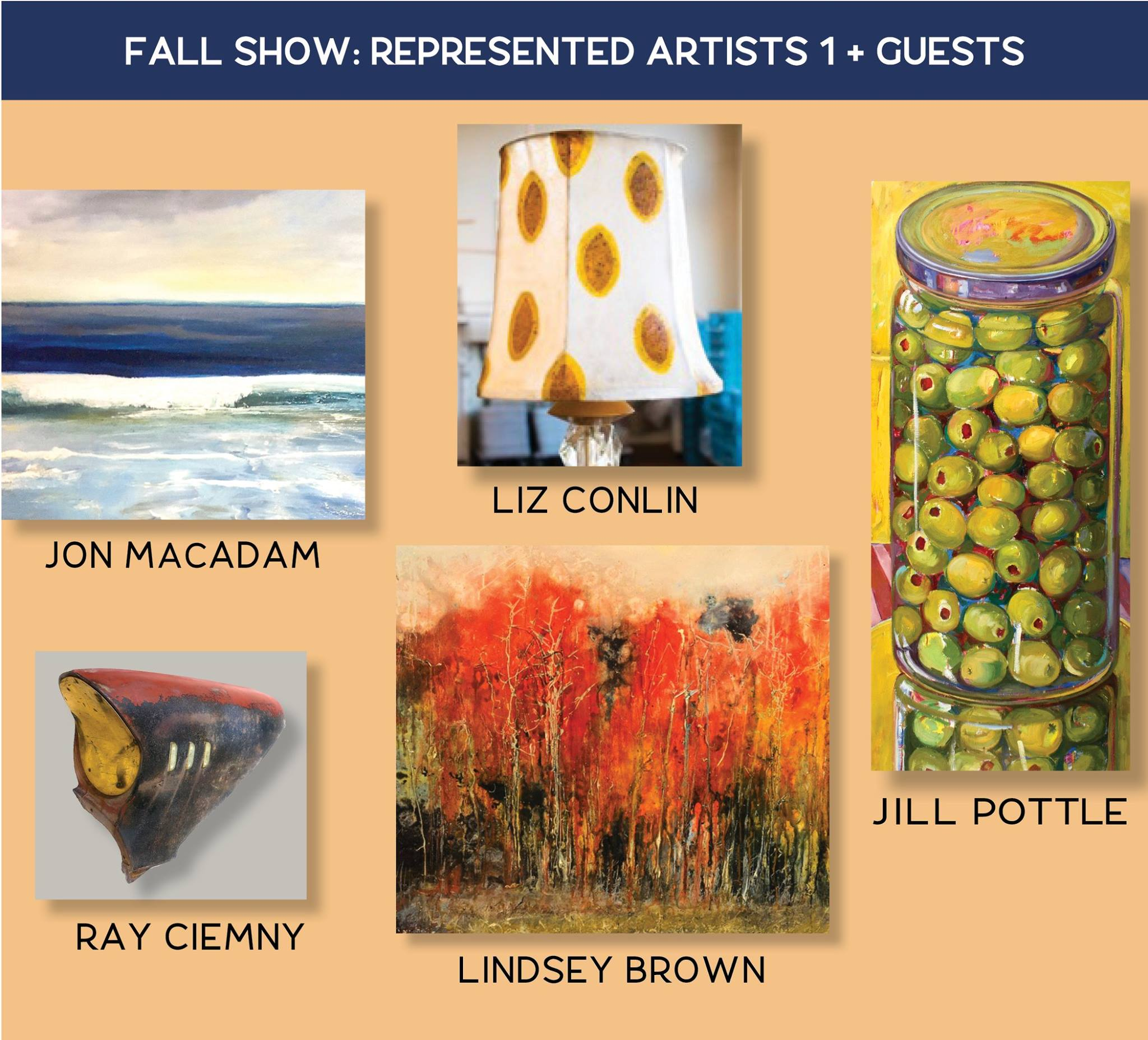 art gallery show in West Concord
