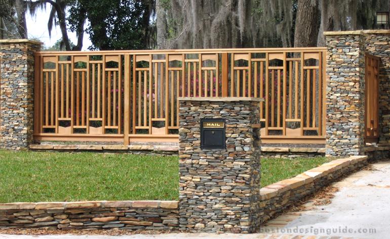 Trellis structures for Craftsman style trellis
