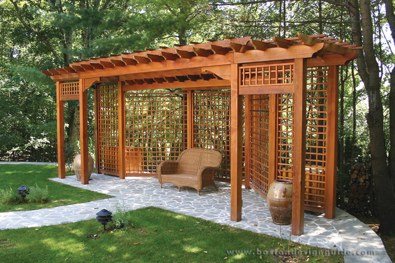 Trellis structures for Garden trellis designs