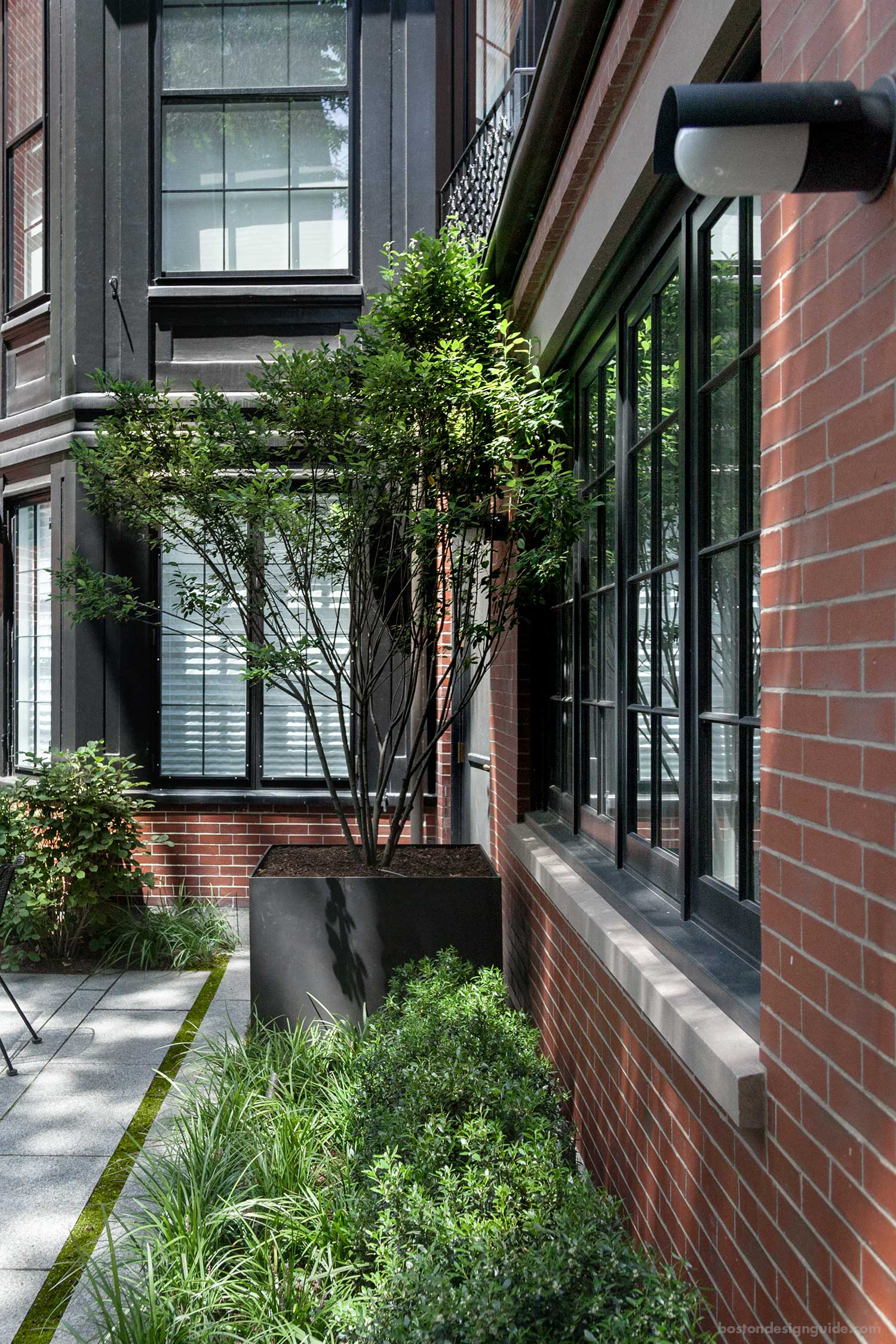 High-end Boston landscape architecture