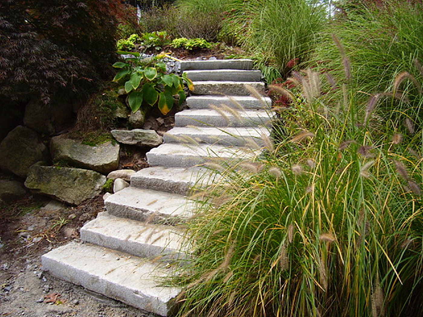 Plymouth Quarries used granite steps