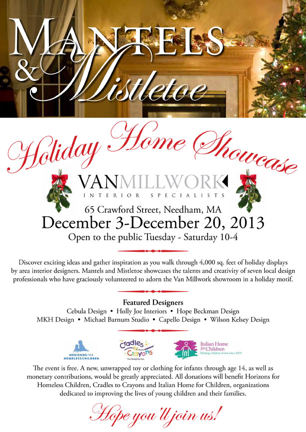 Holiday Home Showcase at Van Millwork