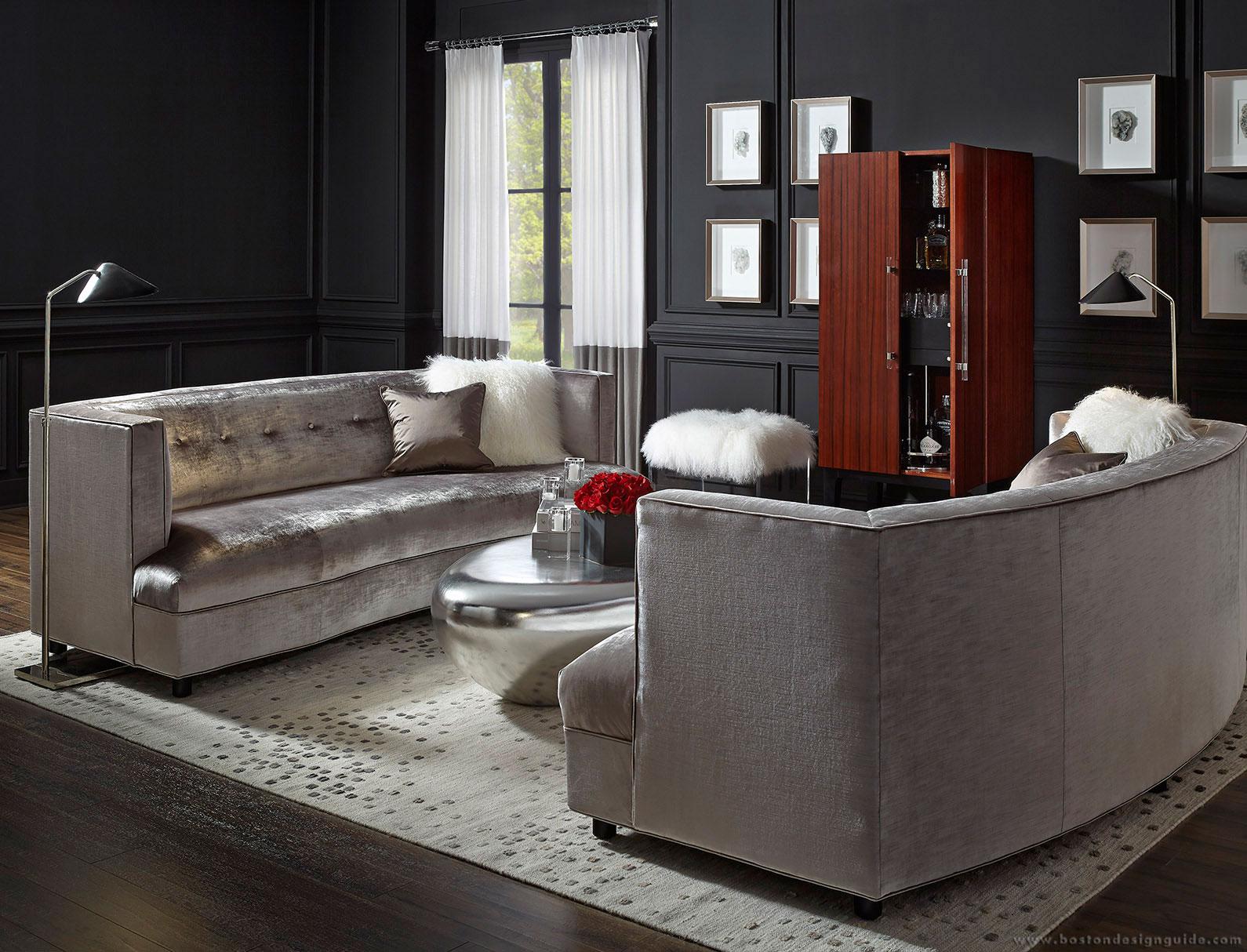 Velvet Couches and Sofas