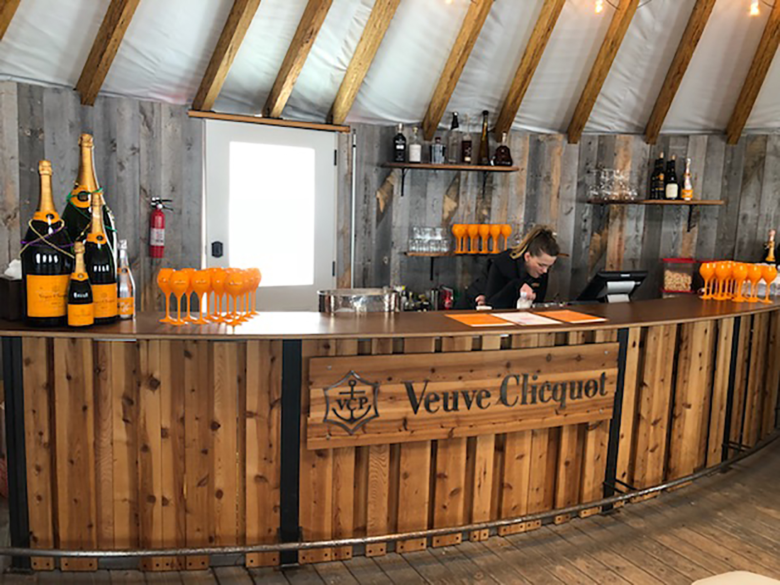 Veuve Clicquot Yurt at Park City, Utah