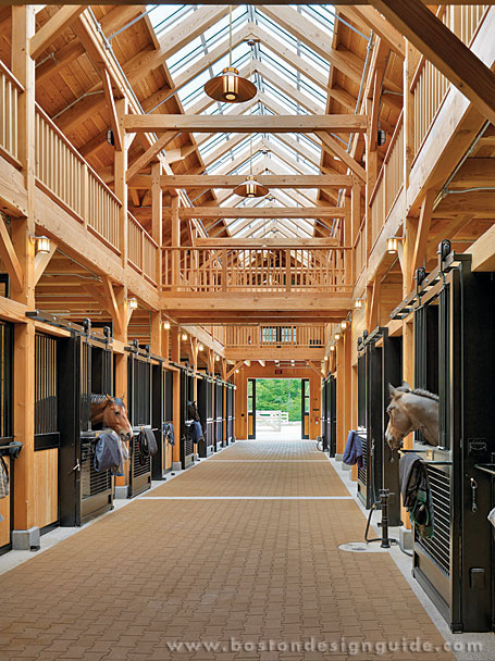 Private custom equestrian center
