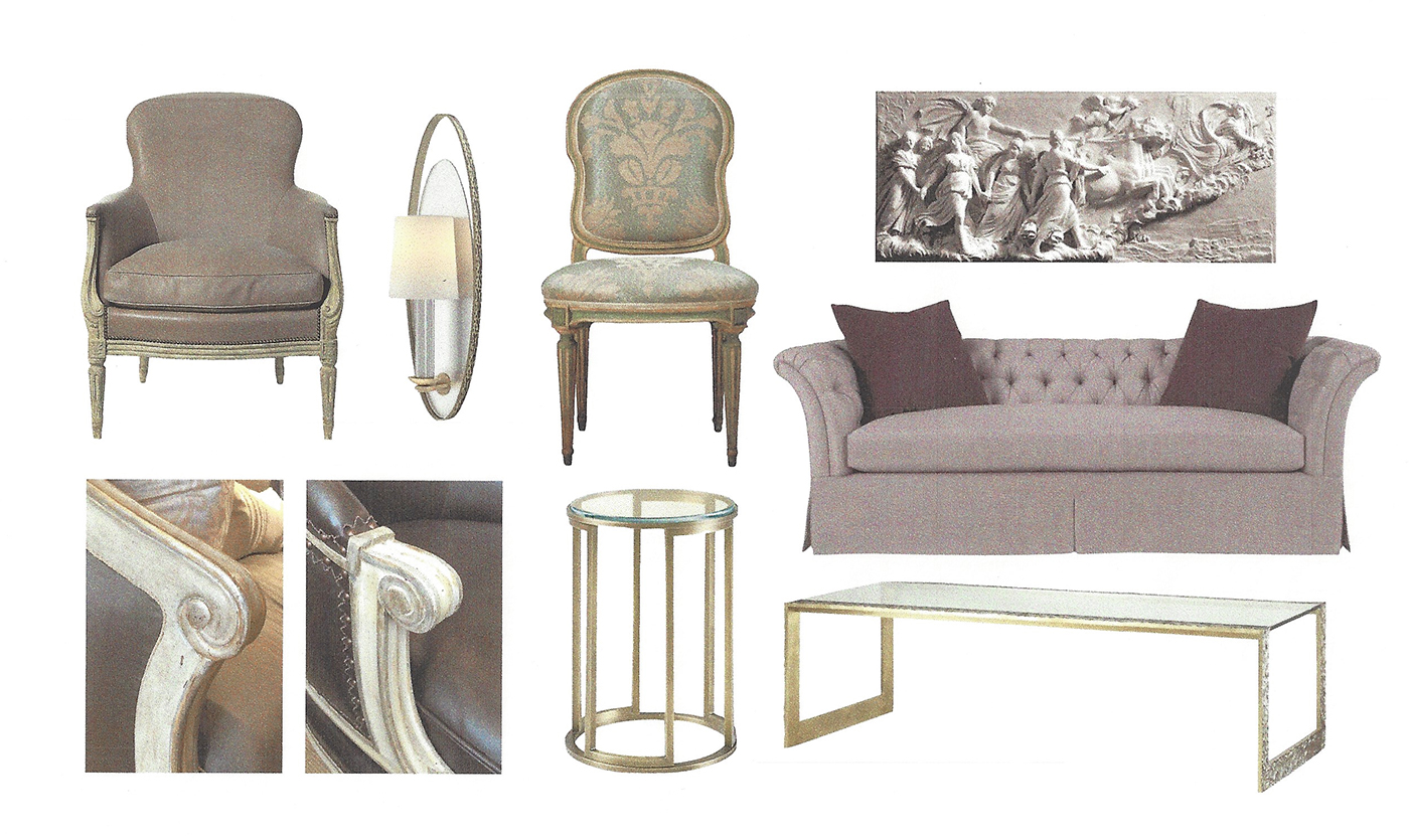 Furniture for French salon