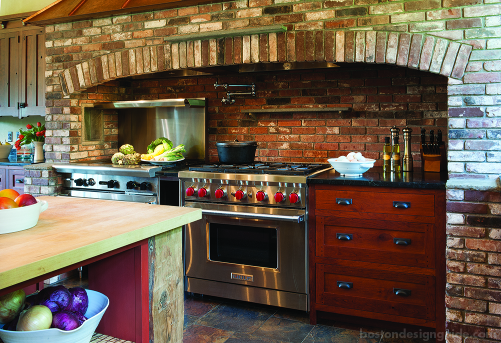 Rustic Kitchen Stove
