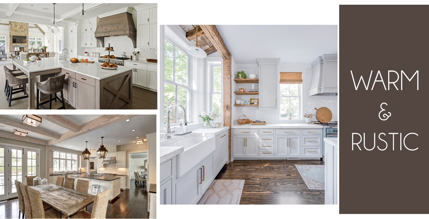 High-end kitchen ideas using the warmth of wood by LDa Architecture & Interiors, Kistler & Knapp Builders, Cutting Edge Homes, and Yankee Barn Homes