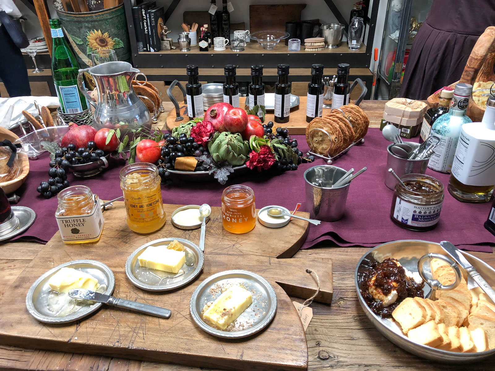 Gourmet goodies and serveware at Weston Table's new flagship store