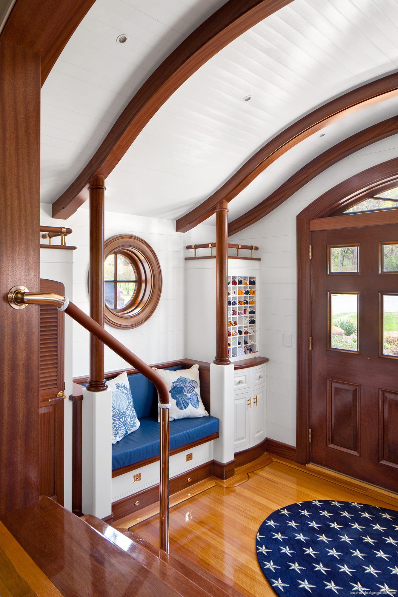 High-end homes with a nautical flair