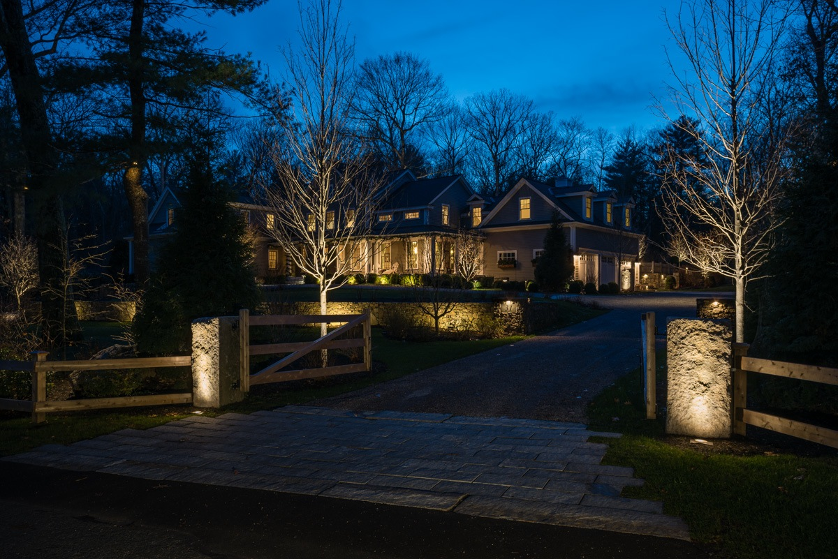 The Beauty Of Landscape Lighting Boston Design Guide