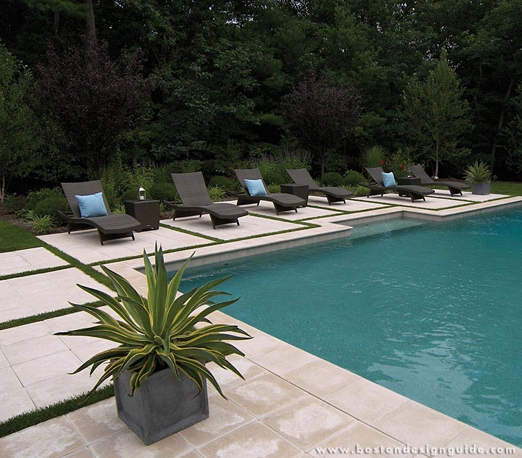 A blade of grass for Pool design guide