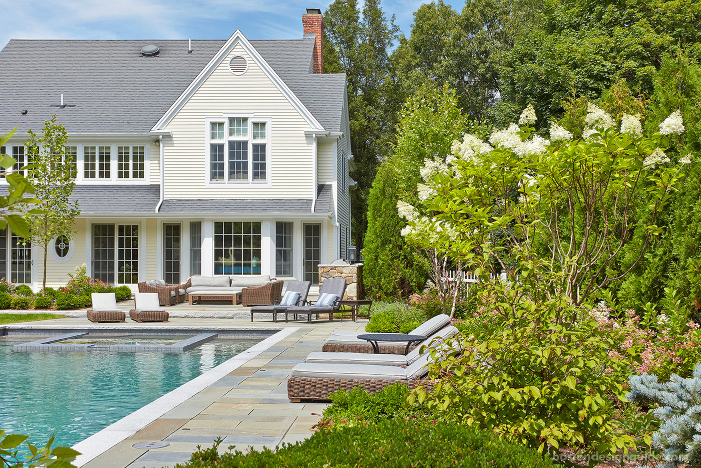 High-end Boston landscape design
