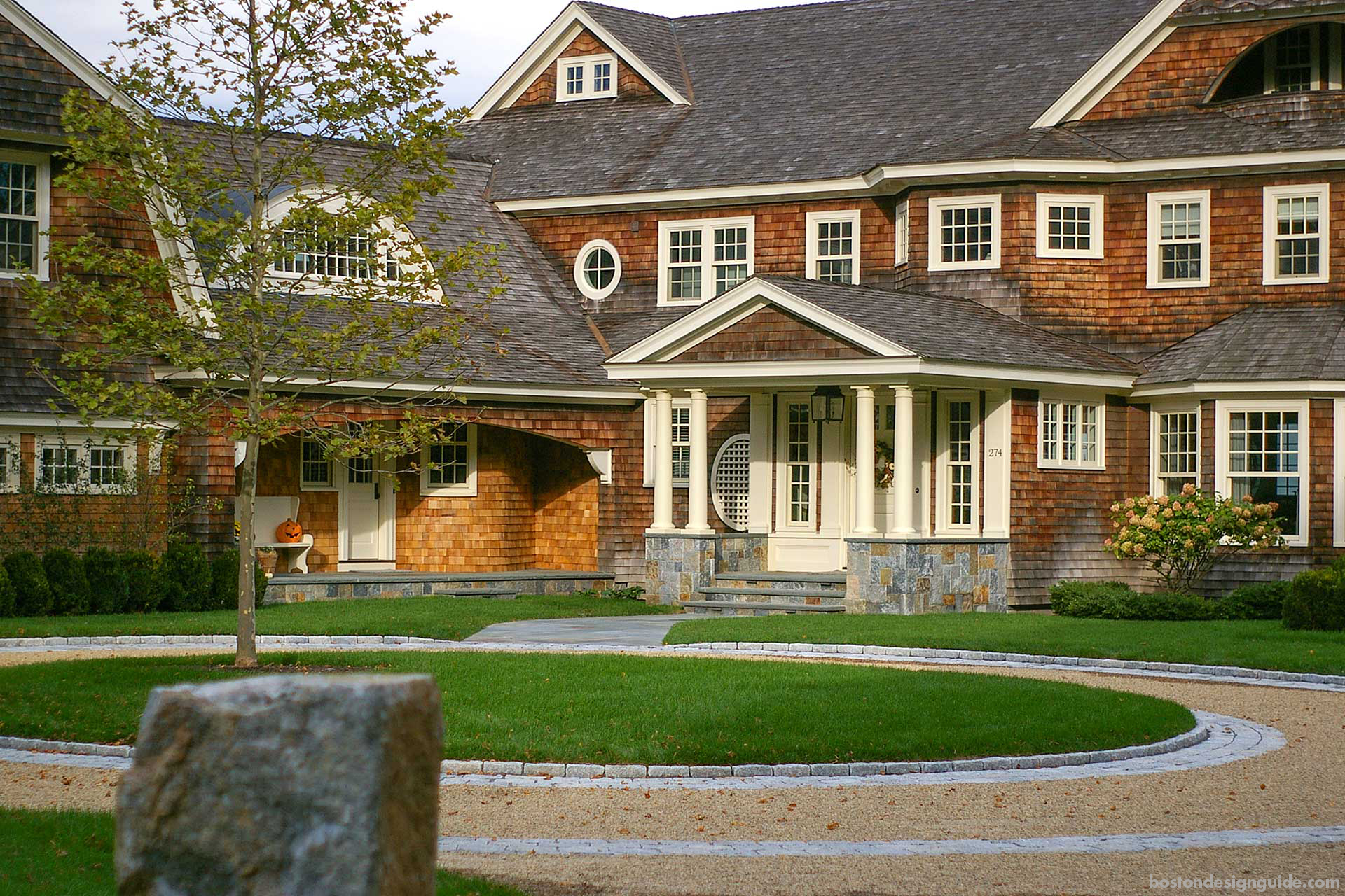 fall home landscaping