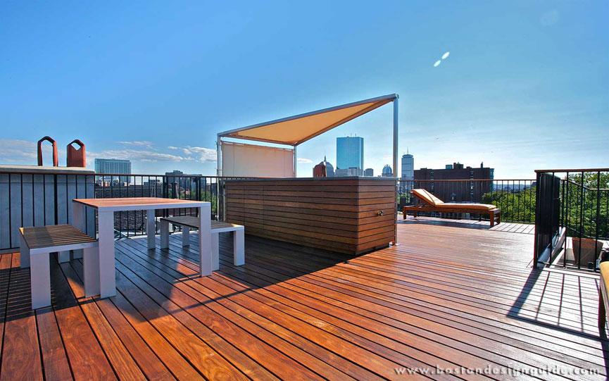 Rooftop Terraces In Boston Ma Boston Design Guide
