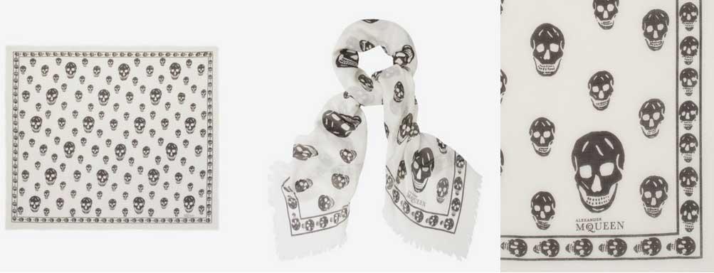 Alexander McQueen Skull Scarves