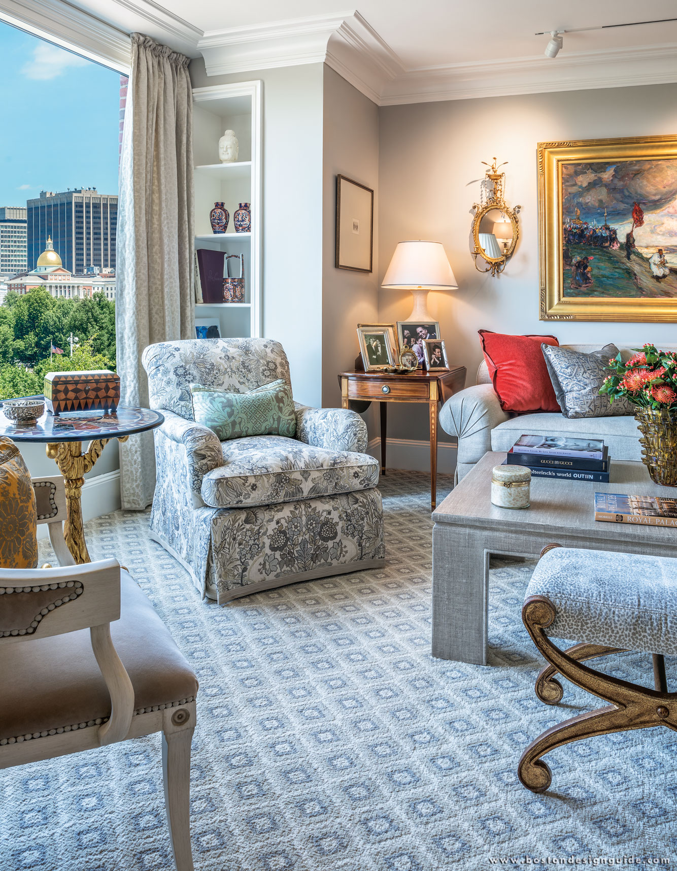 Anthony Catalfano Interiors; Photography by Warren Patterson