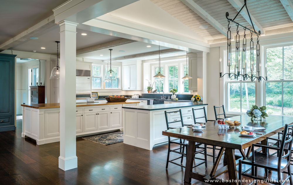 Kitchen by Architectural Kitchens; construction by Kenneth Vona Construction; photo by Richard Mandelkorn