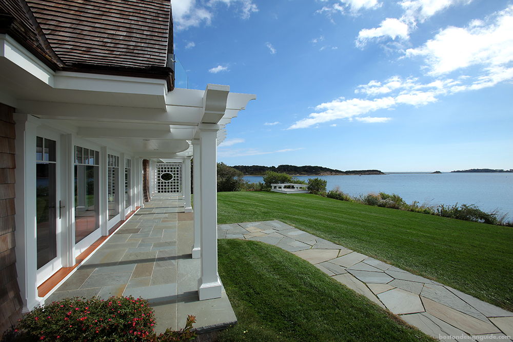 Cape Cod Home Landscape and Architecture Design