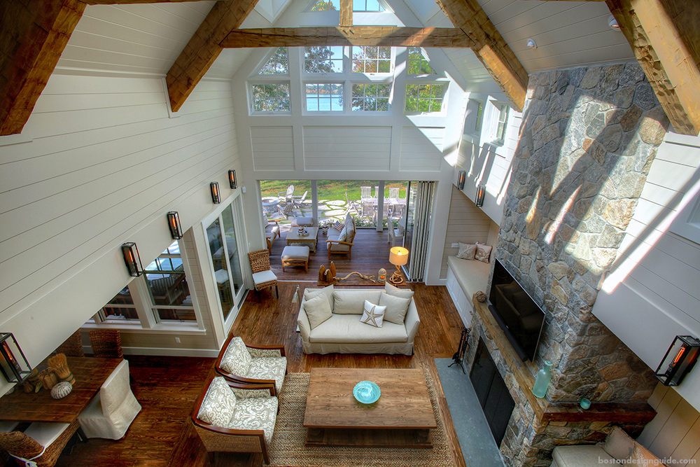 Indoor Architecture New England Style