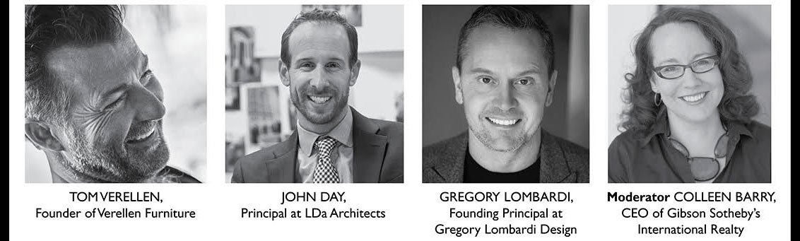 Panelists for ARTEFACT Boston's Sustainable Luxury event for Boston Design Week