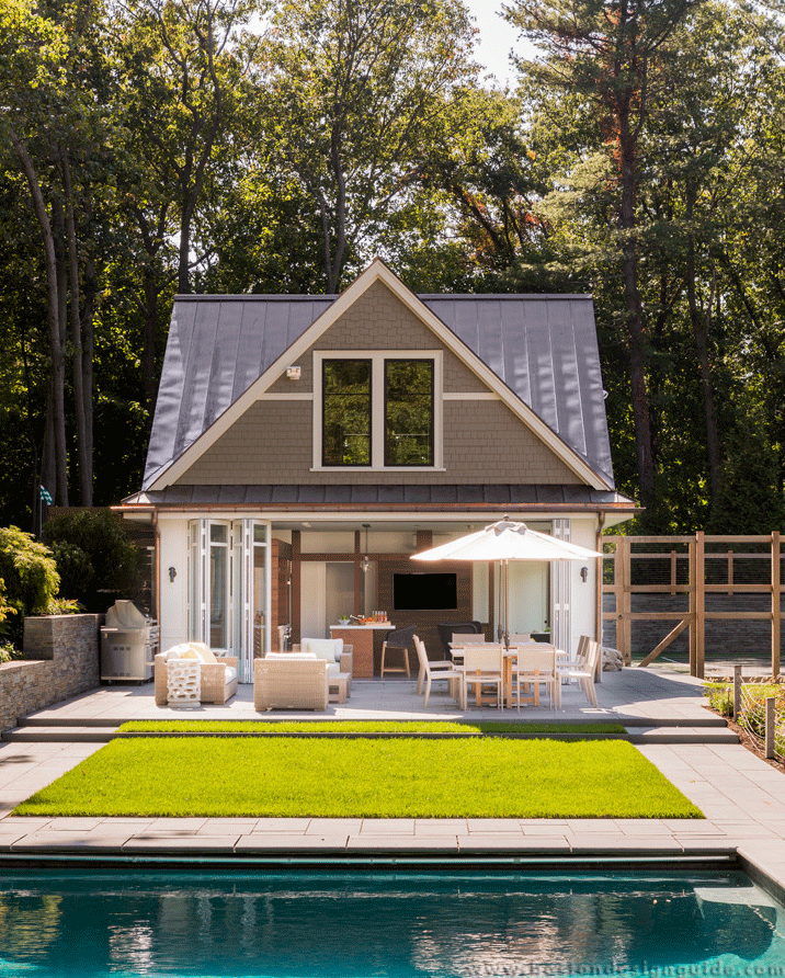 Home Plans With Pool House: Boston Design Guide