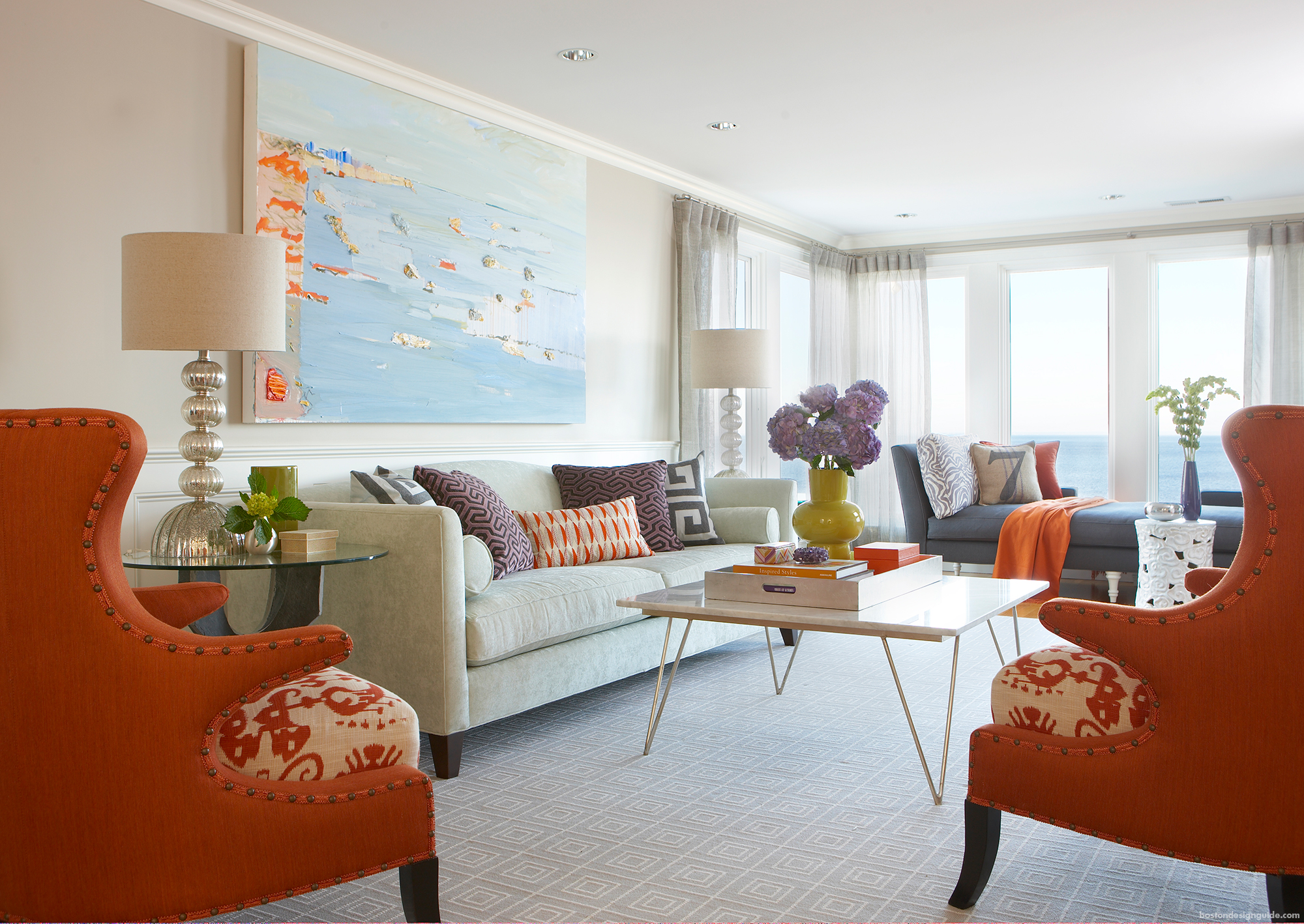 home design inspiration with fall colors