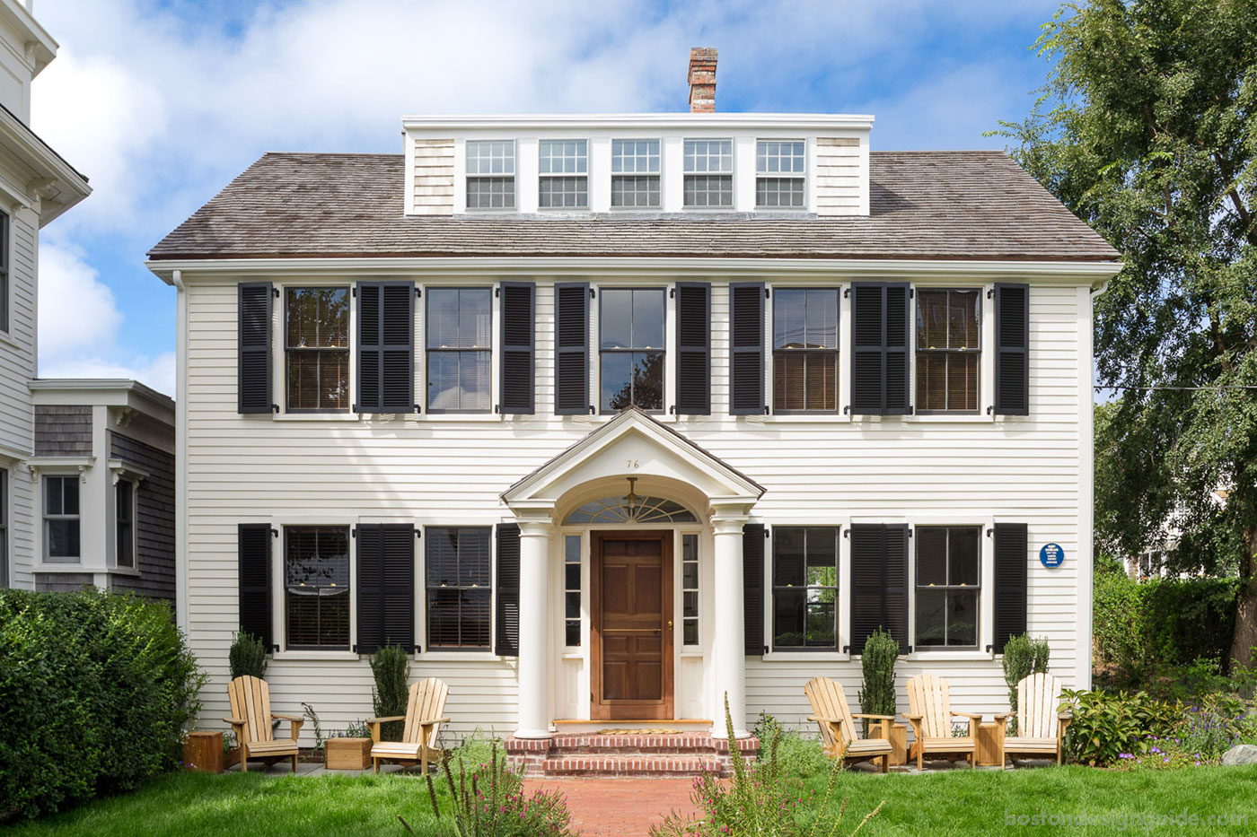 Provincetown renovation with period details by Bannon Builders