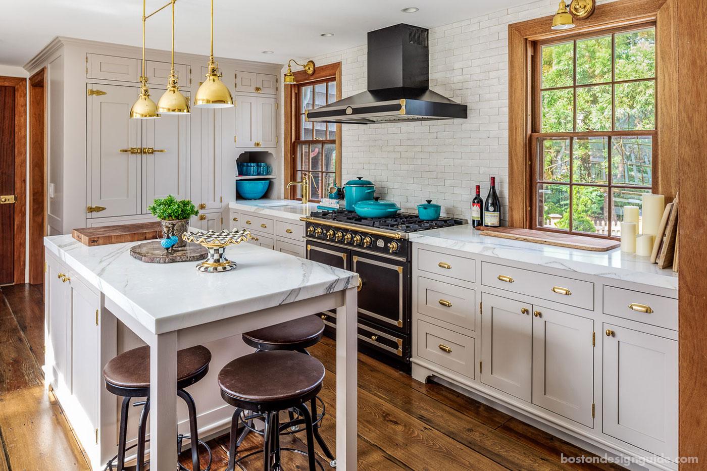 Cape Cod kitchen renovation by Bannon Builders