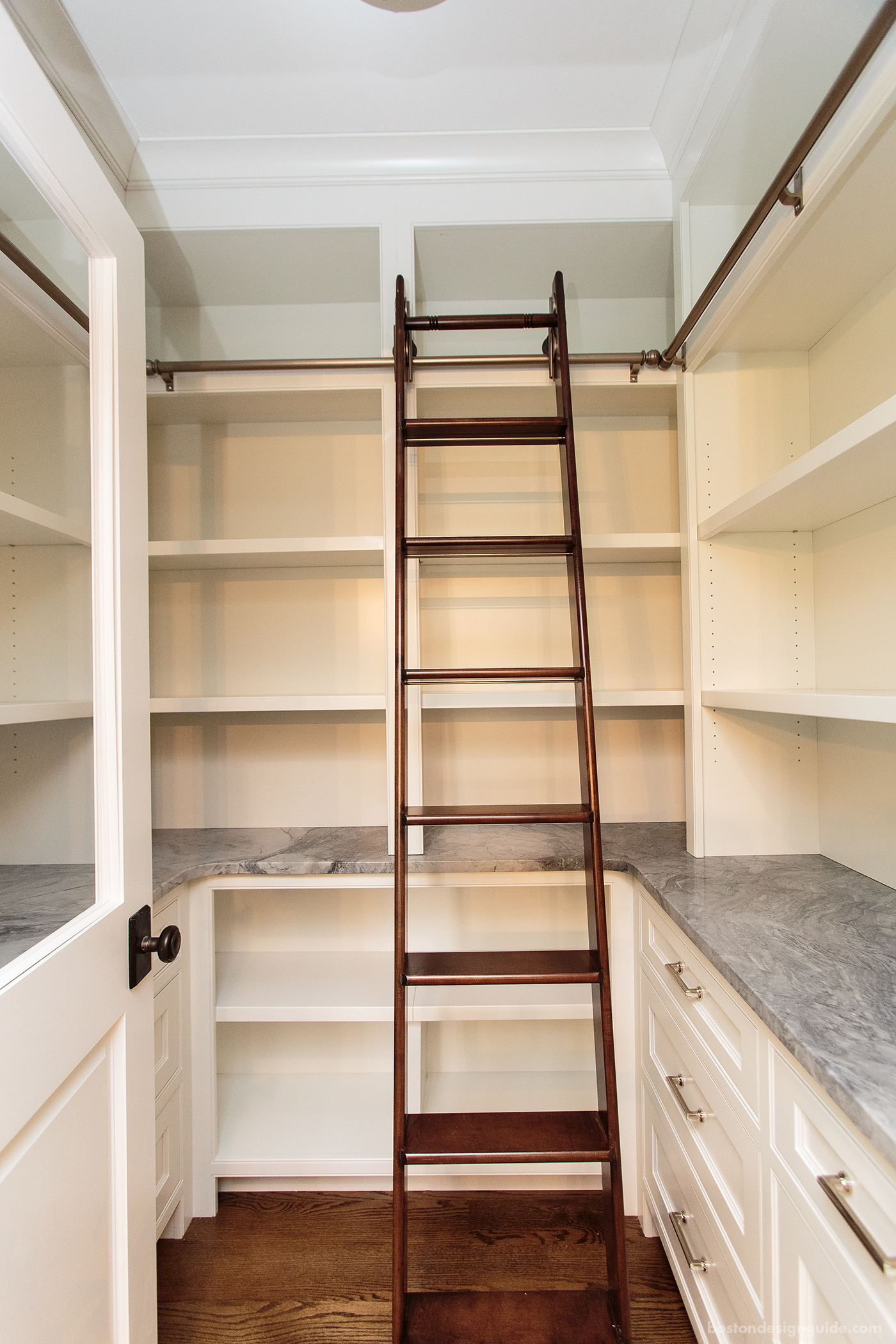 custom walk-in pantry