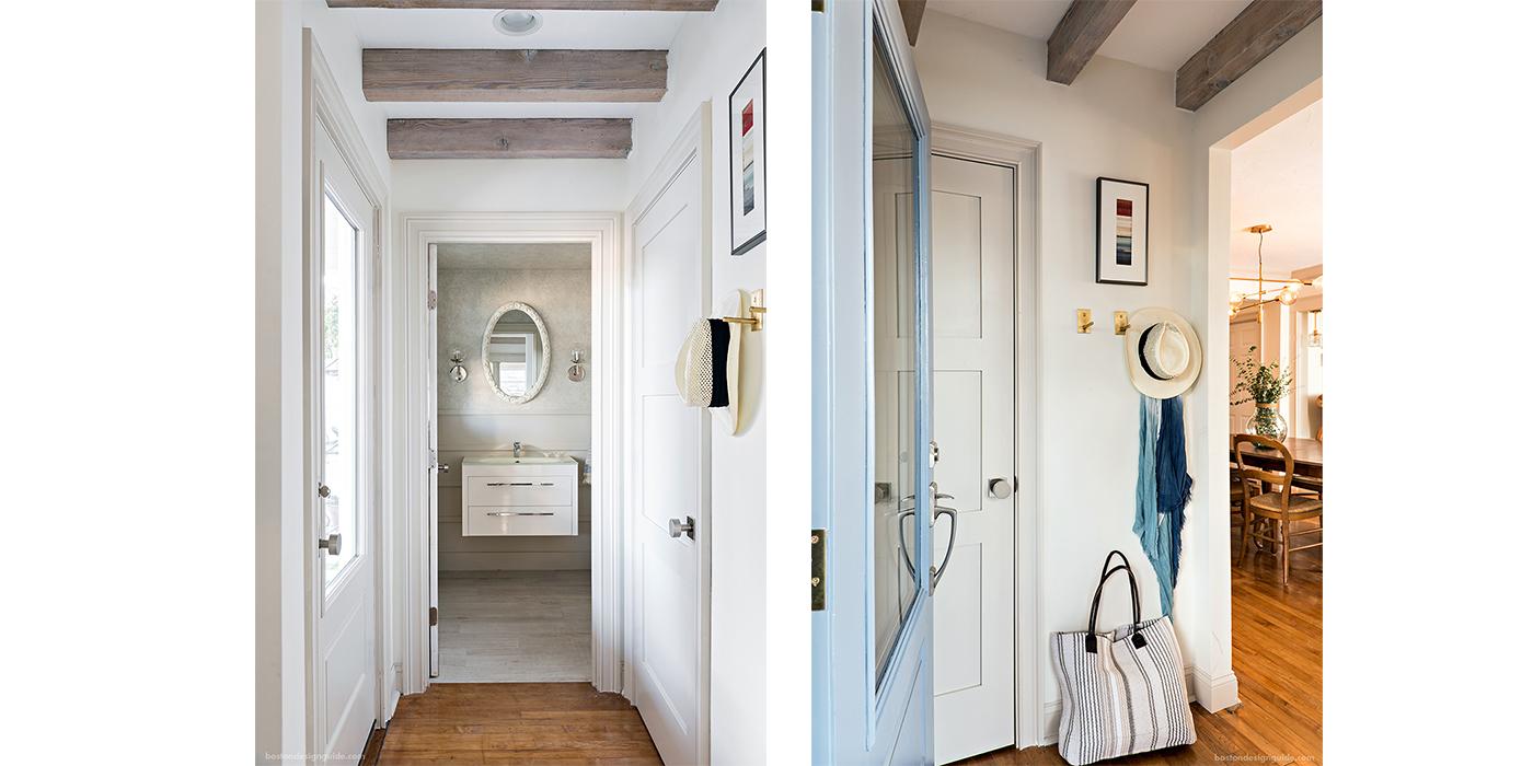 A New England Designer renovates her coastal bungalow